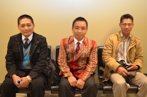 Pastors Ceu Hrin and Cung Bawi Thawng