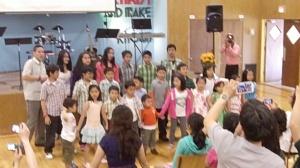 GCF kids celebrating 3 years